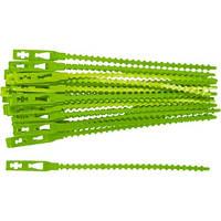 Подвязки для садовых растений 13 см пластиковые 50 шт PALISAD