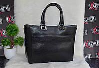 Кожаная женская сумка в деловом стиле.