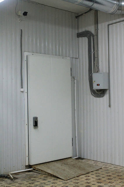 Холодильная камера для охлаждения и хранения продуктов 0..+4 1