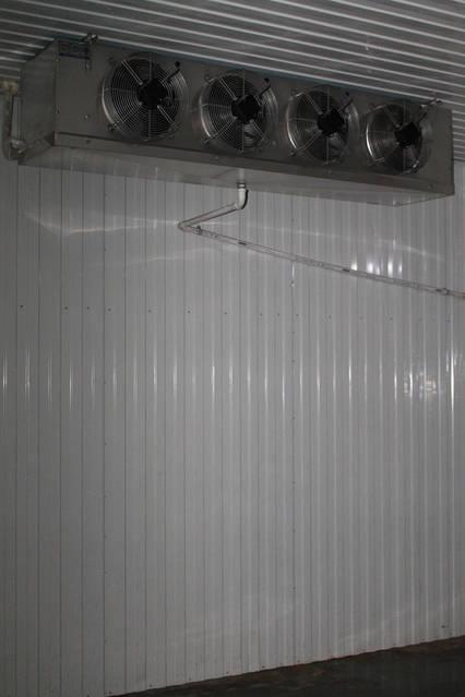 Холодильная камера для охлаждения и хранения продуктов 0..+4 2