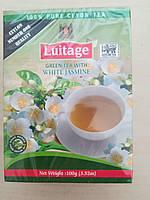 Чай зеленый luitage с жасмином
