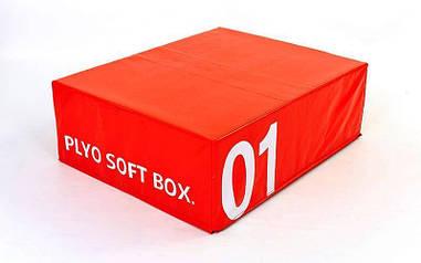 Бокс плиометрический мягкий SOFT PLYOMETRIC BOXES  FI-5334-1