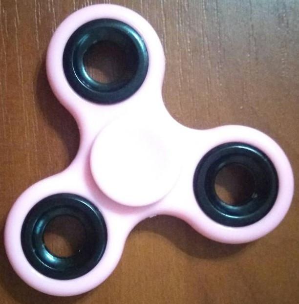 Cпиннер розовый 8242
