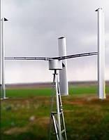 """Ветрогенераторная установка 5 кВт + мачта + """"установка под ключ"""""""