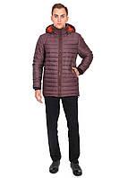 Куртка мужская коричневая