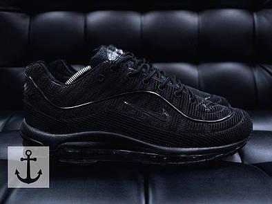 Мужские кроссовки Nike Air Max  Supreme Black