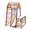Дитячий спортивний комплекс BambinoWood Color Plus 1-1
