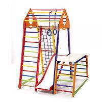 Детский спортивный комплекс BambinoWood Color Plus 1-1, фото 1
