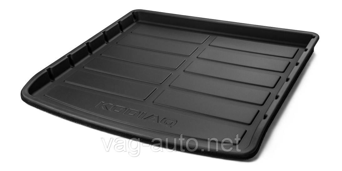 Поддон пластиковый в багажник Kodiaq