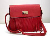 Классная модная женская сумка клатч VTTV красная