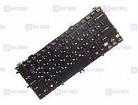 Оригинальная клавиатура для ноутбука Sony Vaio Pro 11 series, ru, black, под подсветку