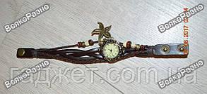 Женские наручные часы браслет черного цвета., фото 3