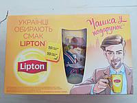 Набор чая Липтон с чашкой