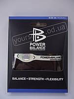 Power Balance - энергетический браслет Белый М