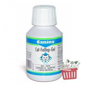 Canina (Канина) Cat Felltop Gel лікування проблем з шерстю та шкірою - вітаміни для кішок