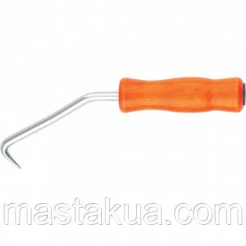 Крюк для вязки арматуры, 210 мм, деревянная рукоятка СИБРТЕХ - МАСТАК в Днепре