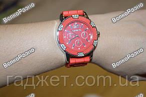 Часы Geneva Michael Kors Crystal красные, фото 3