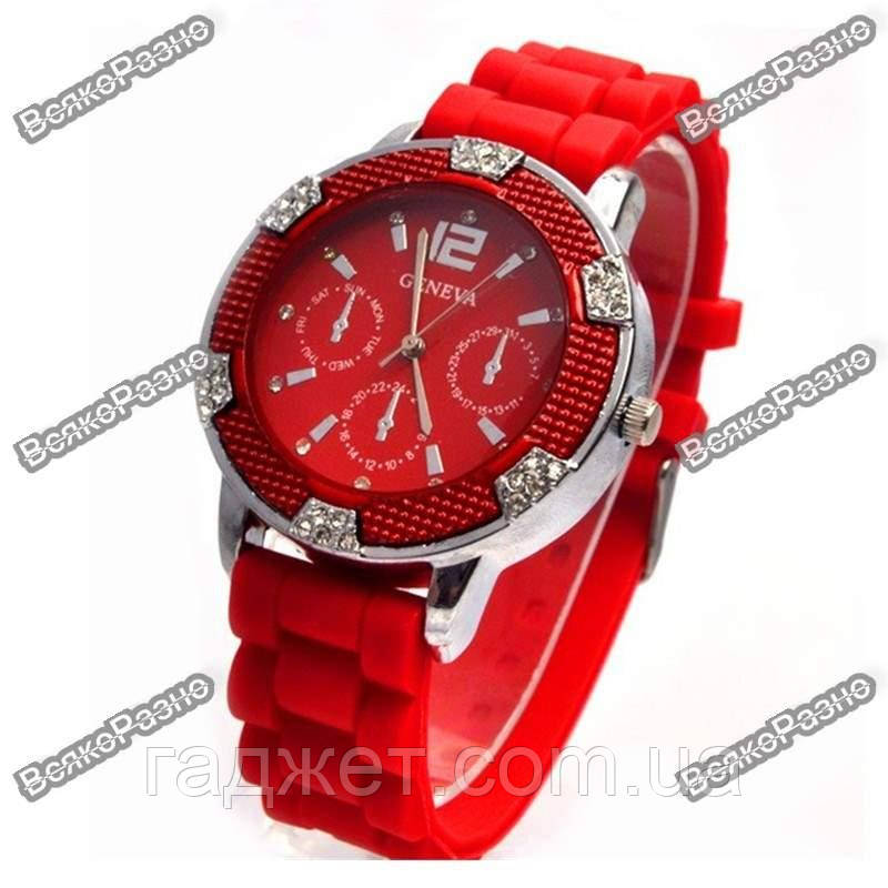 Часы Geneva Michael Kors Crystal красные