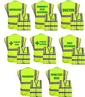 Светоотражающий жилет High Visibility Jacket Medical. Великобритания, оригинал.