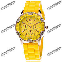 Часы Geneva Michael Kors Crystal желтые