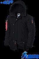 Парка мужская зимняя Braggart Arctic - 2694D черная