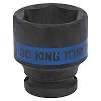 "Головка 1/2"" 30мм ударная KING TONY 453530M, фото 1"