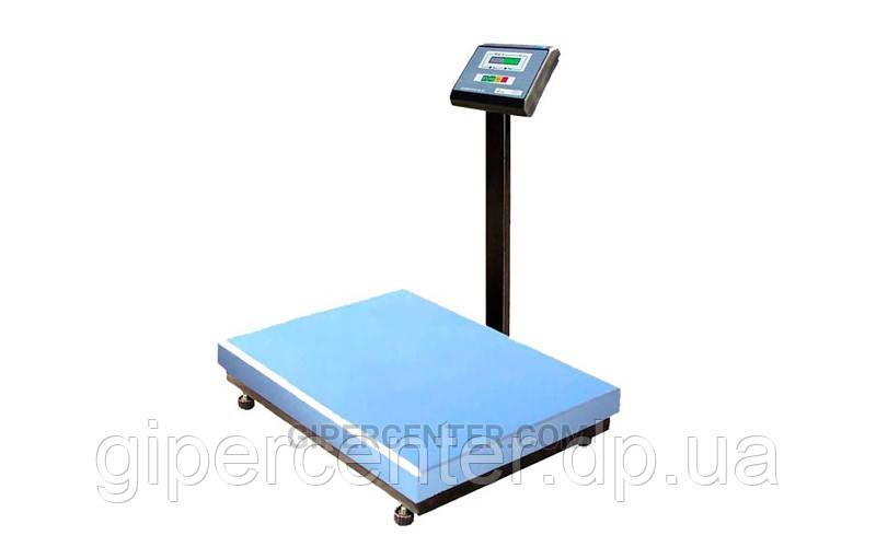 Весы товарные Промприбор ВН-200-1-A ЖКИ до 200 кг (600х800 мм), со стойкой