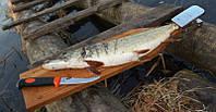 Доска для разделки рыбы бук рыбочистка