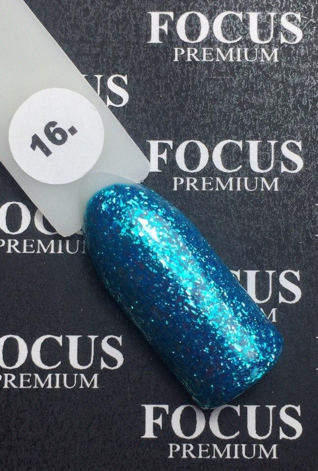 Гель-лак FOCUS premium titan № 16, 8 мл