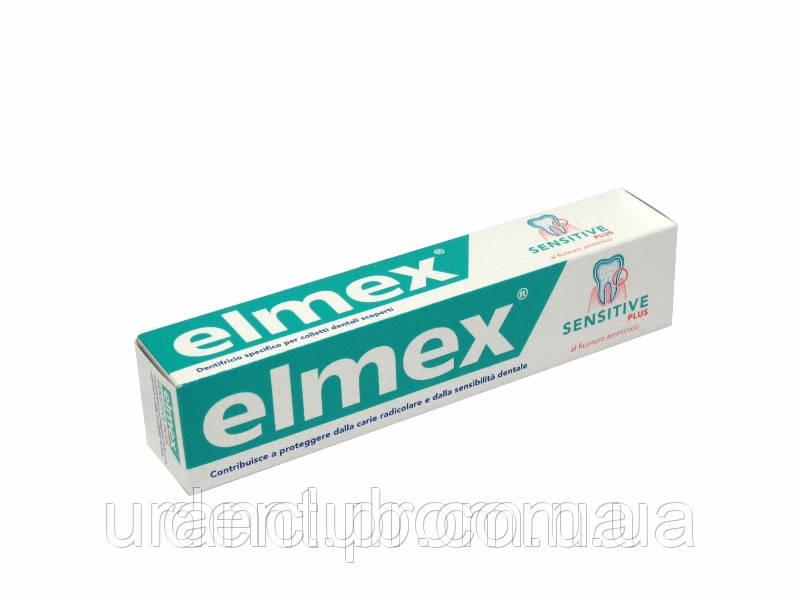 Зубная паста Elmex Sensitive для чувствительных зубов 75 мл.Германия
