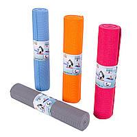 Коврик для фитнеса,для йоги , йога мат GreenCamp 4мм (61*173) PVC+чехол GC61173-4PVC