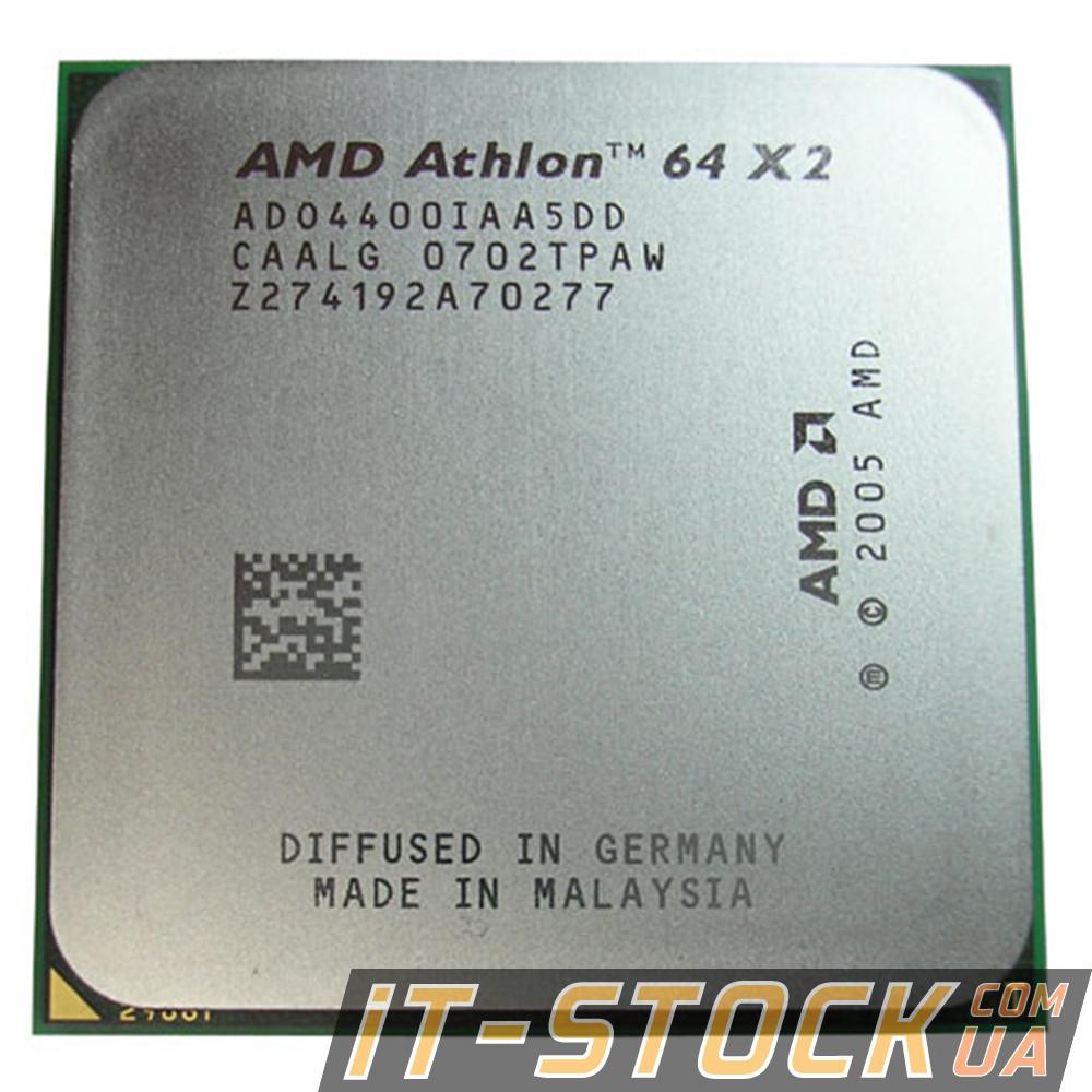 Процессор AMD Athlon 64 X2 4400+ (2.3GHz/1Mb/2000MHz/sAM2)