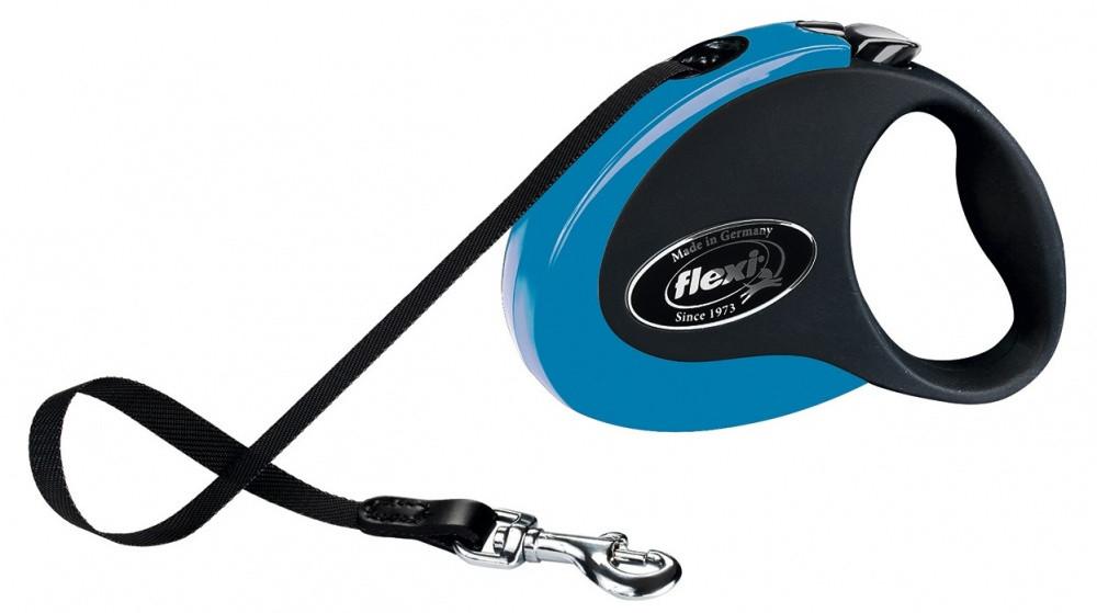 FLEXI (Флекси) COLLECTION M 5м/25кг, лента- выдвижной поводок-рулетка с мягким покрытием (цвет в ассортименте)