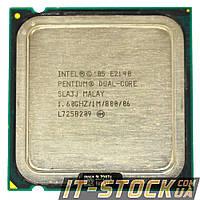 Процессор Intel Pentium Dual Core E2140 (2×1.60GHz/1Mb/s775) б/у