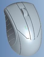 Мышь компьютерная проводная USB M03  (цвета в ассортименте)