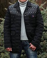 "Мужская куртка "" Стайл азур черный """