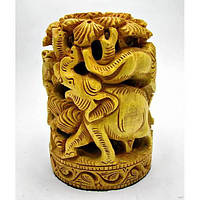 Статуэтка Слон резная дерево