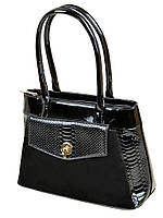 Лаковая женская сумка