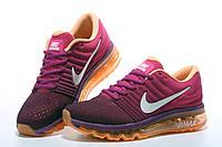 Женские кроссовки Nike Air Max 2017 Purple Orange, фото 1