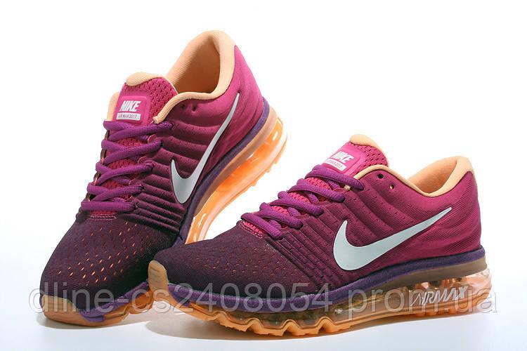 Женские кроссовки Nike Air Max 2017 Purple Orange