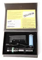 Фонарь 8455 (1500W) Тактический (аккумулятор, зарядка в комплекте)