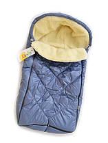 Теплый зимний конветр для новорожденных ЗИМА