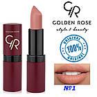 Губная помада Golden Rose Velvet Matte №1, фото 2