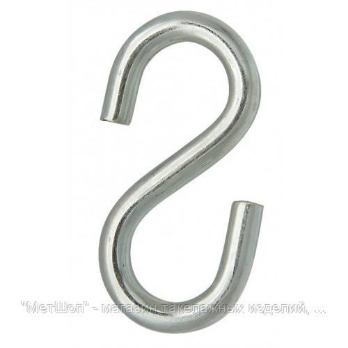 Крюк S-образный 4 mm