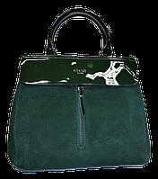 Женская сумочка из натуральной замши CELINE HWT-072142