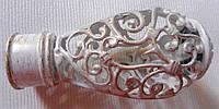 Джанет д. 25 мм, белое золото