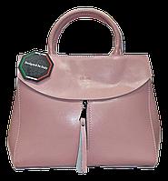 Замечательная женская сумка CELINE из натуральной кожи розового цвета FQJ-003522, фото 1