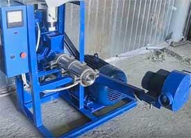 Экструдеры зерновые и соевые шнековые (большой производительности, 75-500 кг/час)