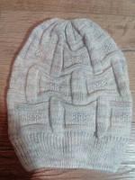 Детская вязаная  шапочка OVS. Размер 6-9/42-44см
