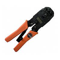 Инструмент для резки сетевого провода и обжимки 4p, 6p и 8p коннекторов e.tool.crimp.hs.2008.r, E.NEXT, t006001